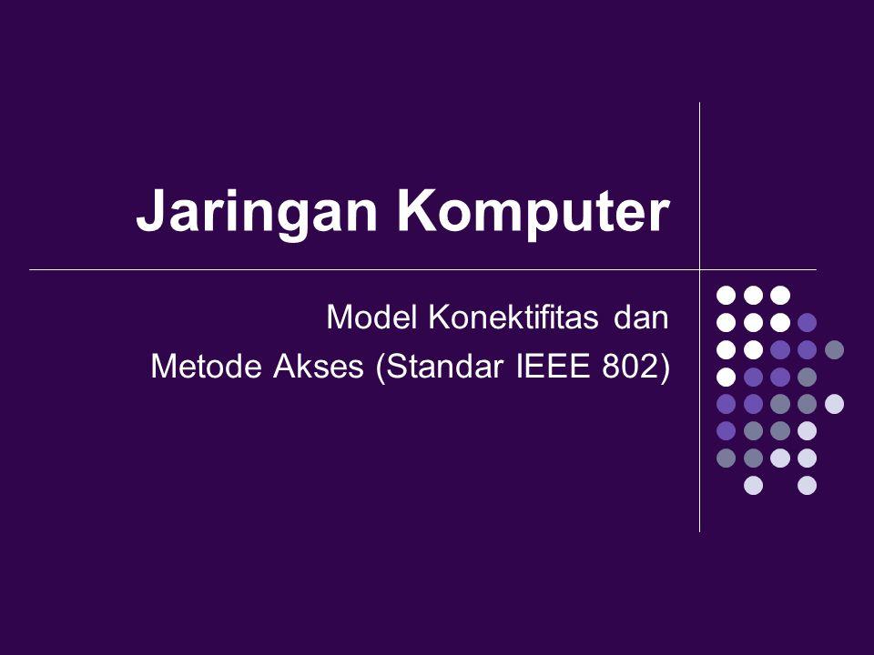 Jaringan Komputer Model Konektifitas dan Metode Akses (Standar IEEE 802)