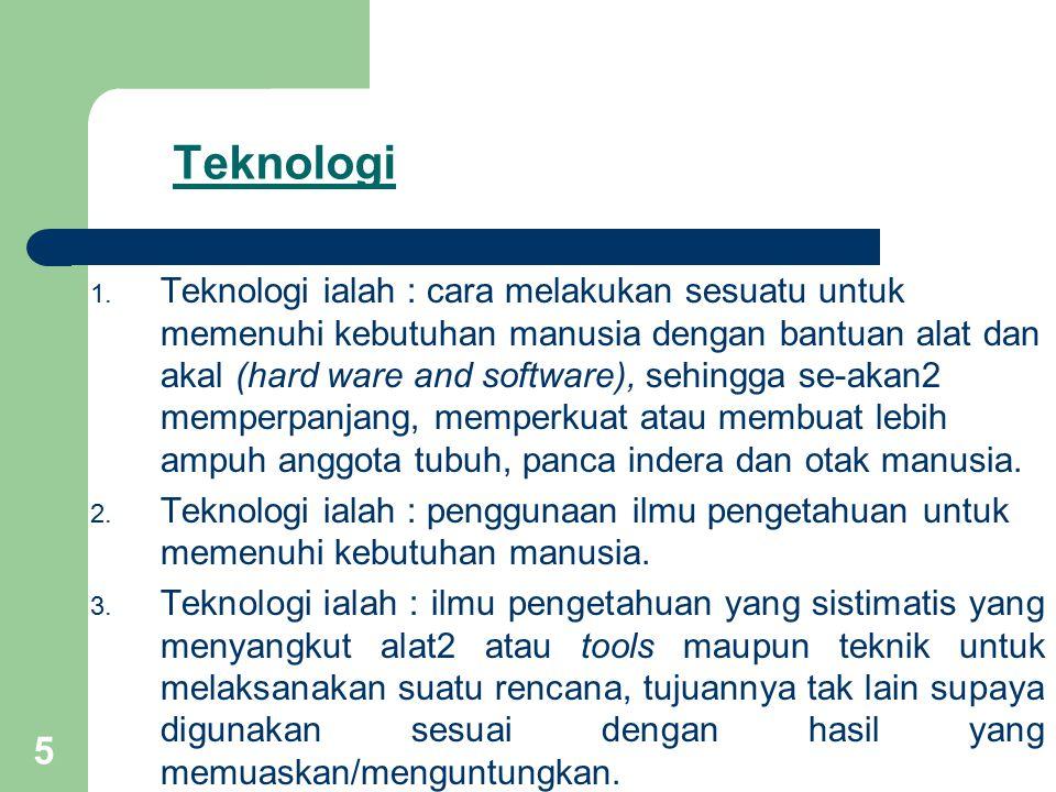 5 Teknologi 1.