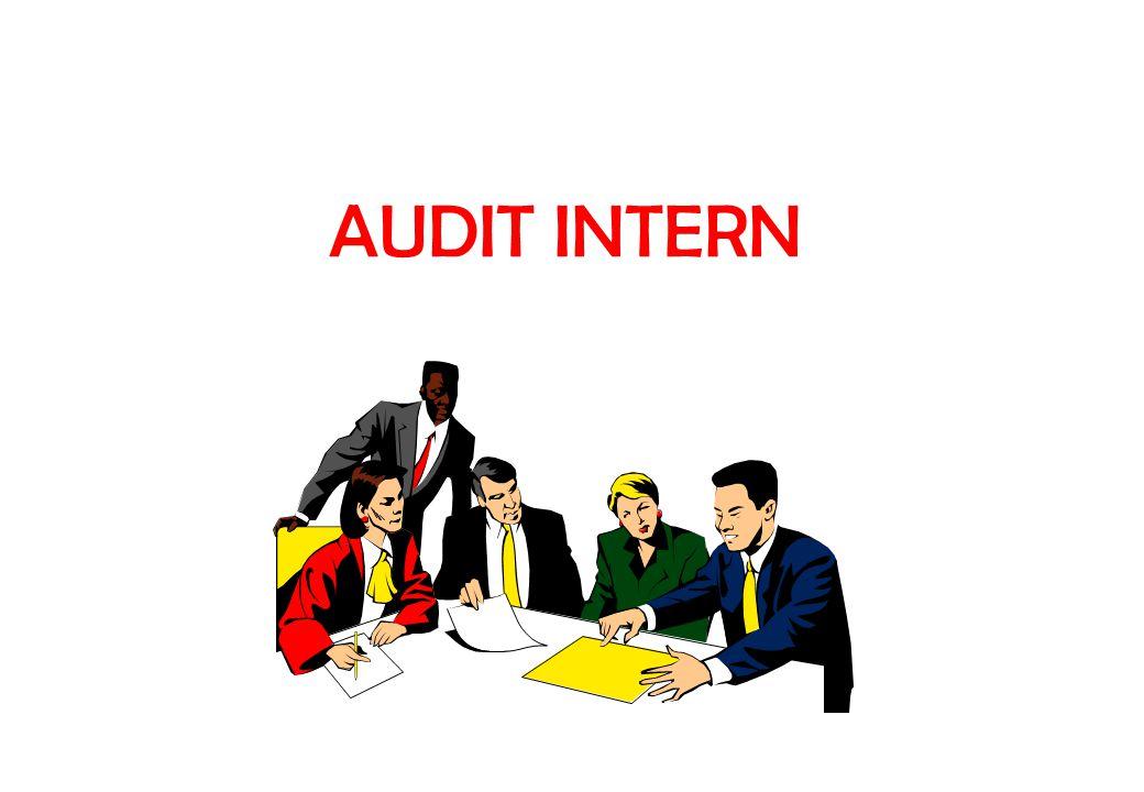 PENGERTIAN AUDIT INTERN Pemeriksaaan yang dilakukan oleh bagian audit intern perusahaan terhadap laporan keuangan dan catatan keuangan perusahaan mengenai ketelitian (accuracy); dapat dipercaya (reliability);efisiensi dan pengendalian intern pada perusahaan