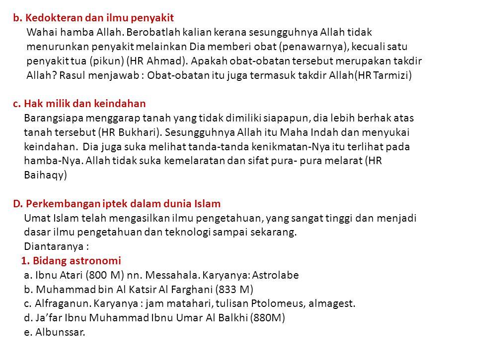 2.Bidang matematika a. Ibnu Rahiweh Al Arjani (850 M) nn.