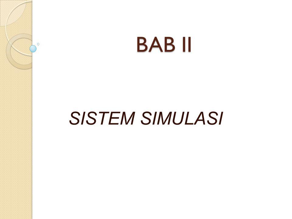BAB II SISTEM SIMULASI