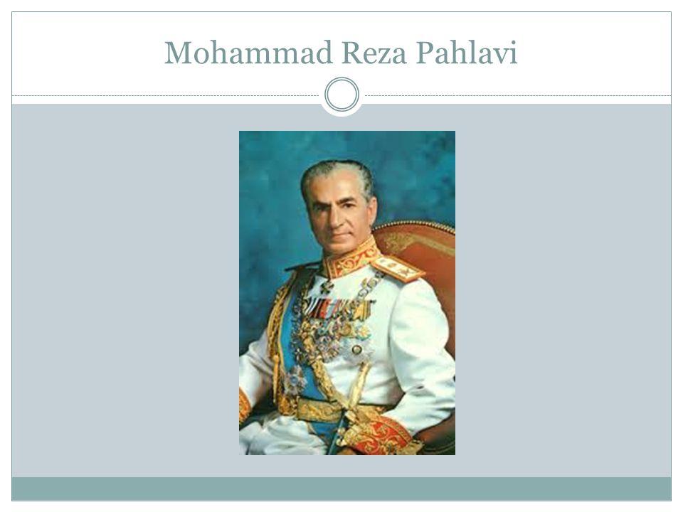 NASIONALISASI INDUSTRI MINYAK IRAN Shah naik takhta pada Perang Dunia II, setelah invasi Anglo-Soviet yang memaksa ayahnya, Reza Shah turun takhta.