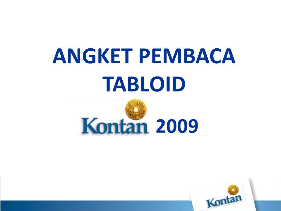 ANGKET PEMBACA TABLOID 2009