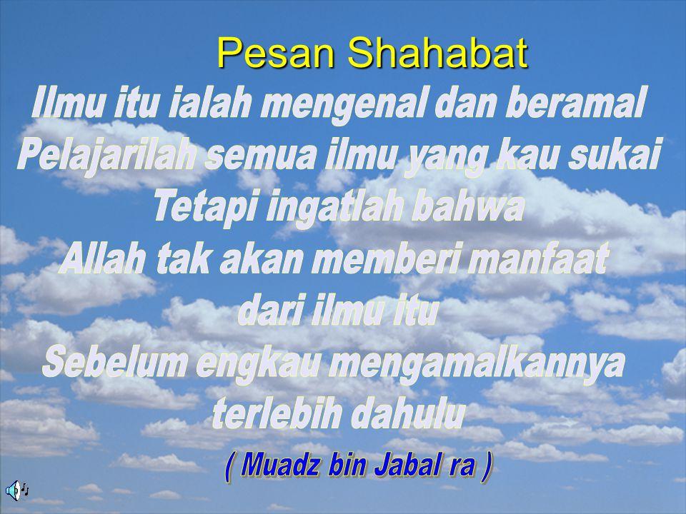 Pesan Shahabat