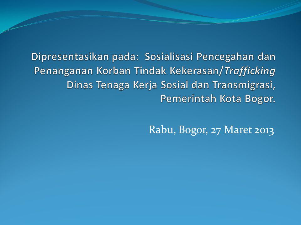 Isu Gender dan Keluarga di Indonesia Rendahnya pertisipasi dan akses perempuan Kesenjangan partisipasi politik perempuan Rendahnya kualitas hidup dan peran perempuan Tingginya kekerasan terhadap perempuan Rendahnya GDI GEM Trend Meningkatnya Trafficking