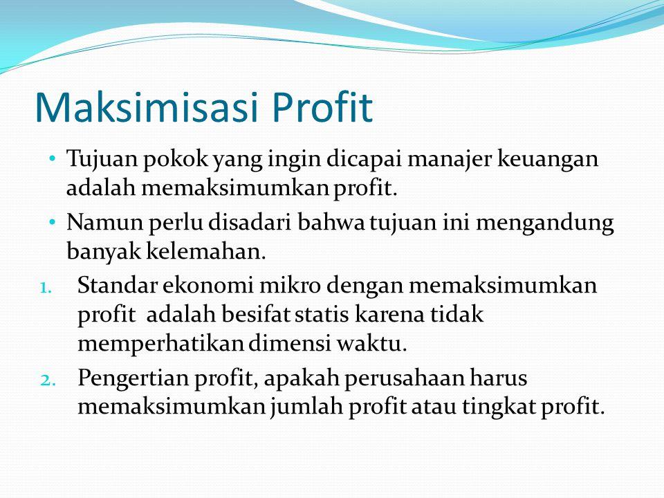 AGEN: Berada di Antara 2 Hubungan Penting Antara pemilik perusahaan dan manajemen Antara manajer (yang bertindak atas nama pemegang saham) dan pemberi kredit (pemegang utang)
