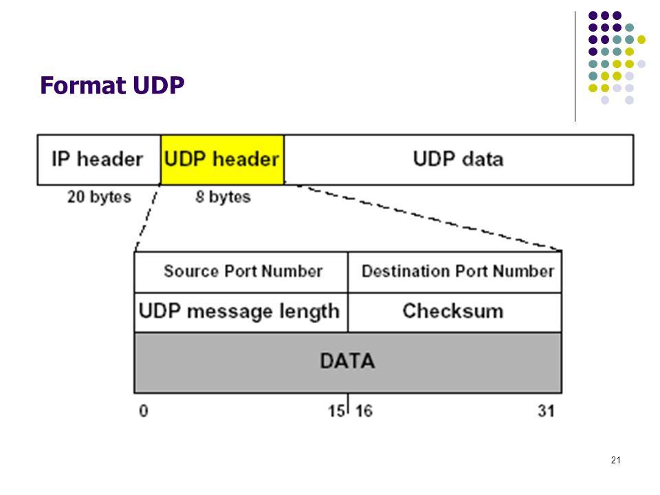 21 Format UDP