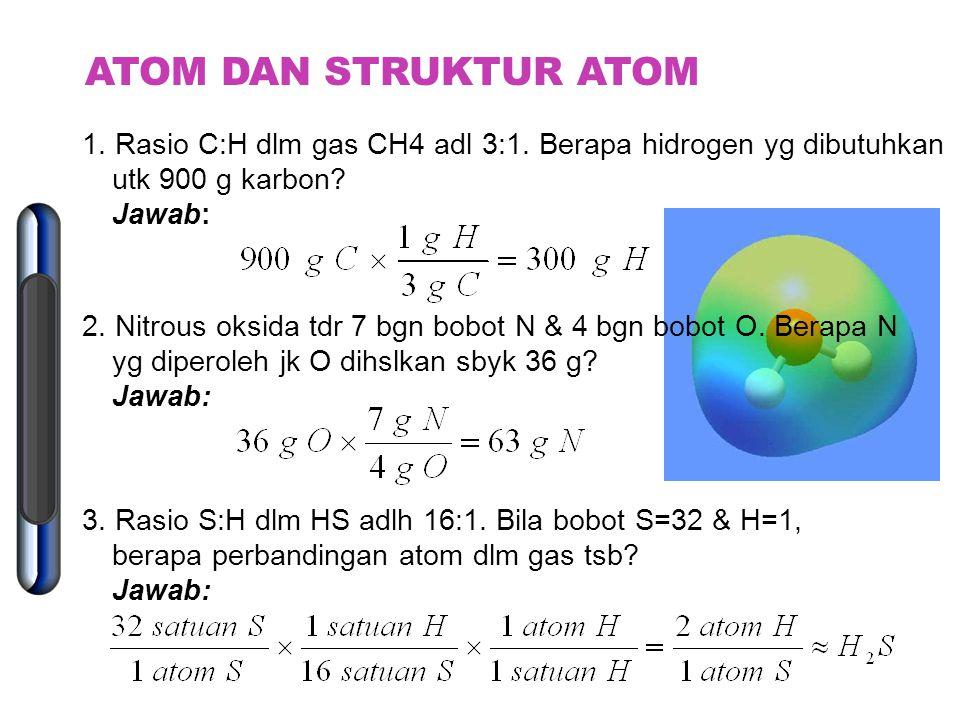 TEORI ATOM MODERN  Teori Kuantum:  e - dianggap sbg gel  Lokasinya tdk dpt dipastikan Louis de Broglie (1924):  E bersifat sbg gelombang Erwin sch
