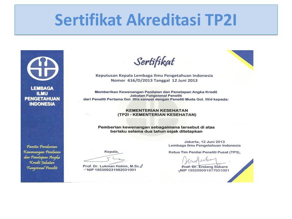 Sertifikat Akreditasi TP2I