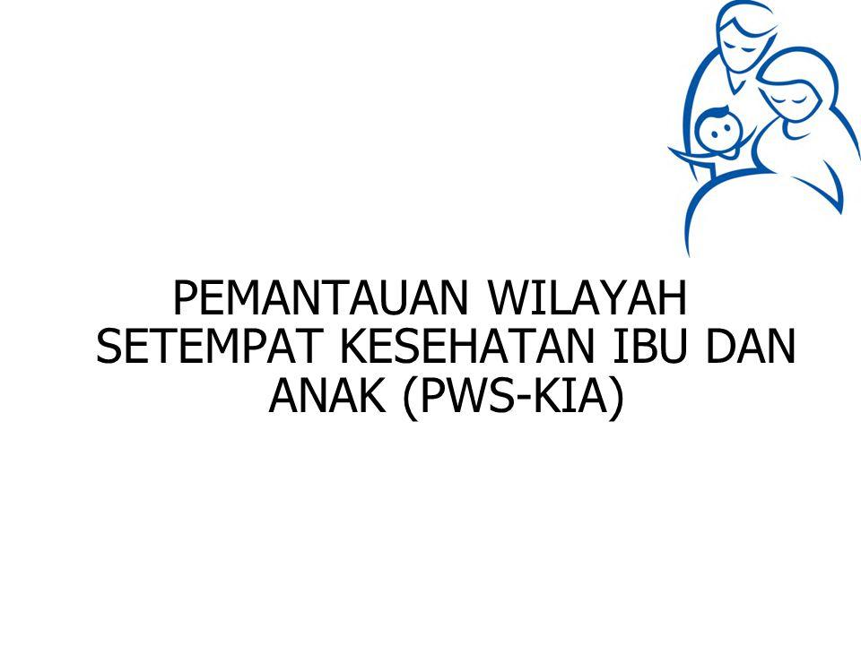 PEMANTAUAN WILAYAH SETEMPAT KESEHATAN IBU DAN ANAK (PWS-KIA)