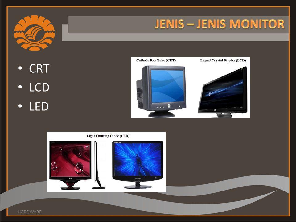 CRT LCD LED HARDWARE