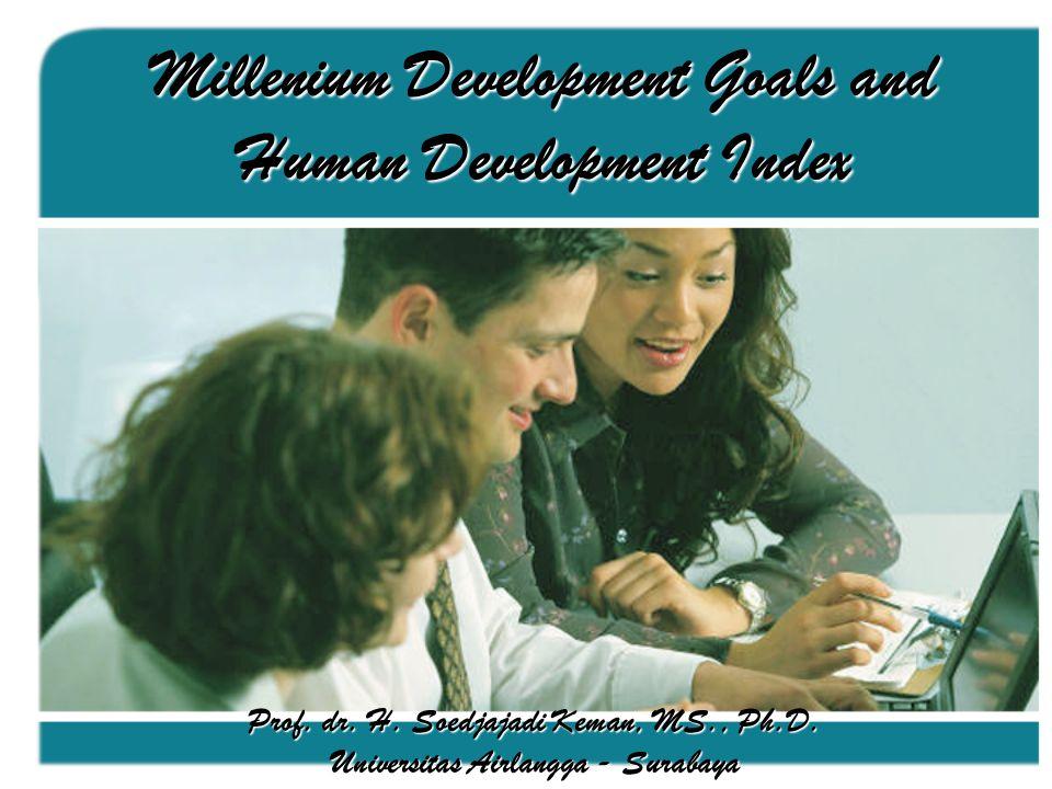 Penghitungan Indeks Pembangunan Manusia DIMENSI INDIKATOR INDEKS DIMENSI INDEKS PEMBANGUNAN MANUSIA Umur Panjang dan Sehat Pengetahuan Kehidupan yang layak Angka Harapan Hidup Pada saat Lahir Angka Melek Huruf (Lit) Rata2 Lama Sekolah (MYS) Pengeluaran (kapita riil yang disesuaikan) (PPP Rupiah) Indeks Harapan Hidup Indeks LitIndeks MYS Indeks Pendidikan Indeks Pendapatan Sumber : Menko Kesra - TKTK (2006) Panduan Kongres Nasional Pembangunan Manusia Indonesia