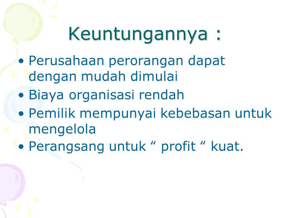 … JUNIOR PARTNER = SEKUTU YUNIOR = adalah seseorang yang telah menjadi pemilik perusahaan dalam waktu yang singkat dan tidak mengambil tanggung jawab yang penting