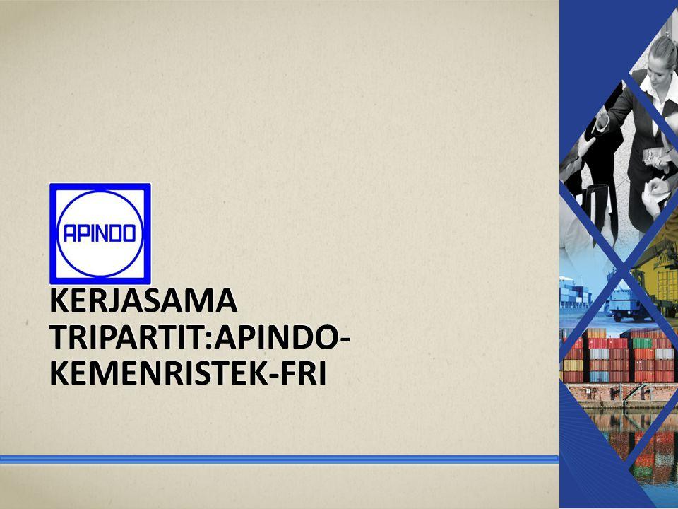 KERJASAMA TRIPARTIT:APINDO- KEMENRISTEK-FRI