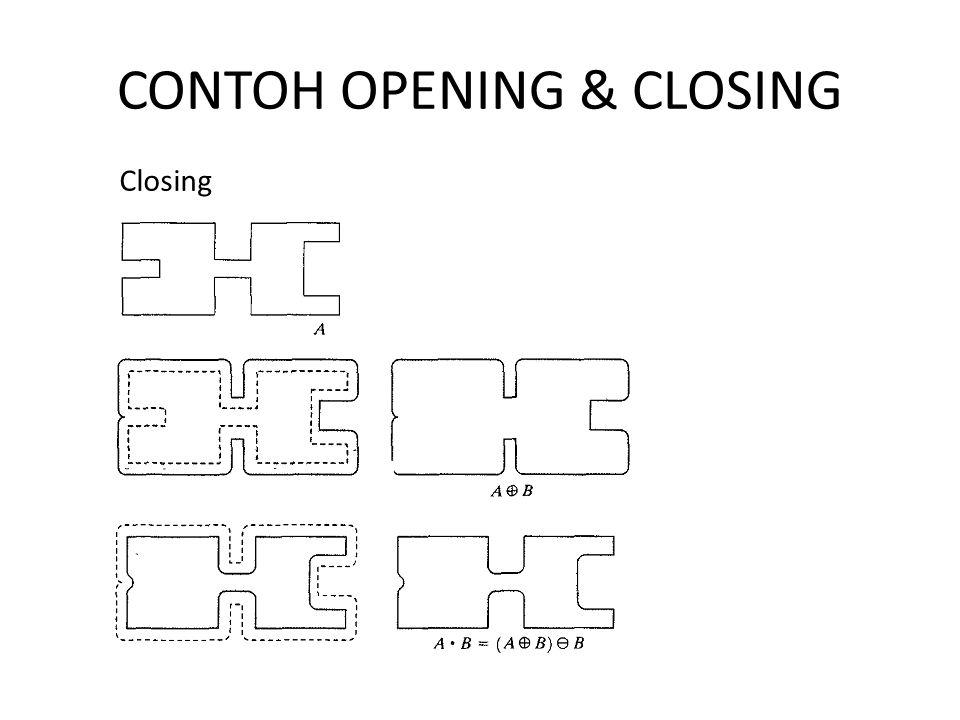 CONTOH OPENING & CLOSING Closing