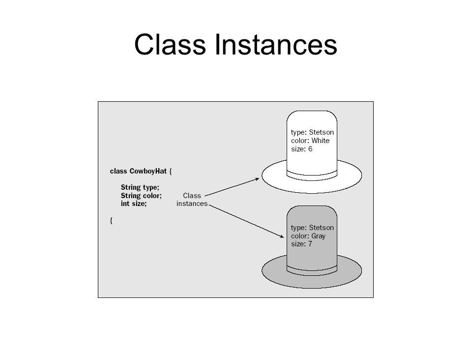 Class Instances