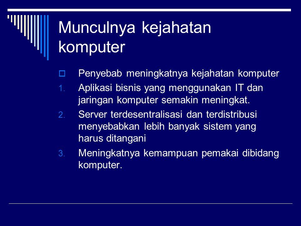 Konsep keamanan  Syarat keamanan kerahasiaan(secrecy) Integritas(integrity) Ketersediaan(availability)