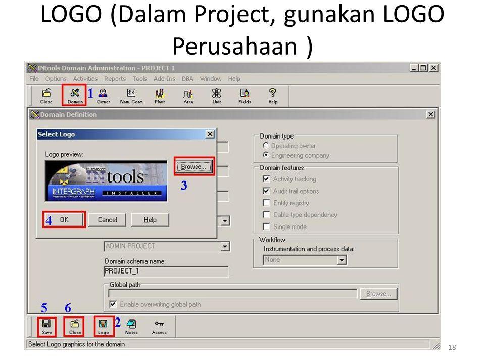 18 LOGO (Dalam Project, gunakan LOGO Perusahaan )