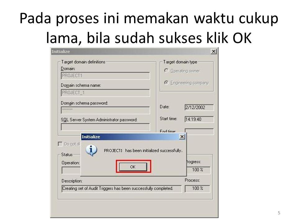 6 Klik Domain, pilih PROJECT1 >> Klik Associate >> Save >> Close 6