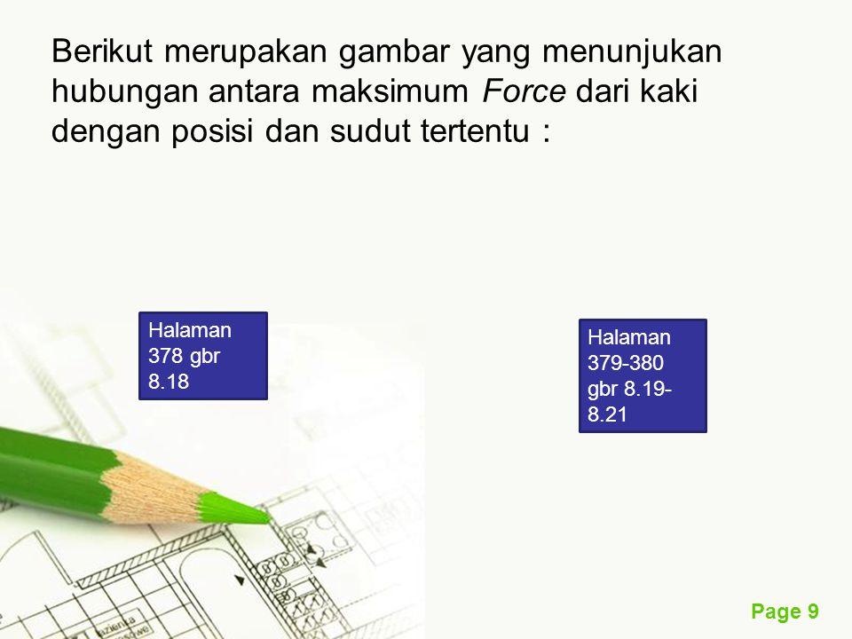 Page 10 Rancangan untuk Operasi Alat dengan Tangan (Hand Tool) Dalam m endesain Hand tool ada beberapa hal yang harus diperhatikan, yaitu kontur dari tangan yang sesuai, dan juga harus memperhatikan ruang gerak tangan agar memaksimalkan energi yang dikeluarkan operator.
