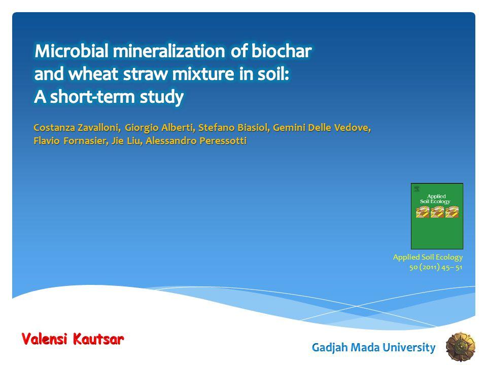 Costanza Zavalloni, Giorgio Alberti, Stefano Biasiol, Gemini Delle Vedove, Flavio Fornasier, Jie Liu, Alessandro Peressotti Applied Soil Ecology 50 (2011) 45– 51
