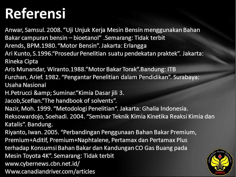 Referensi Anwar, Samsul. 2008.