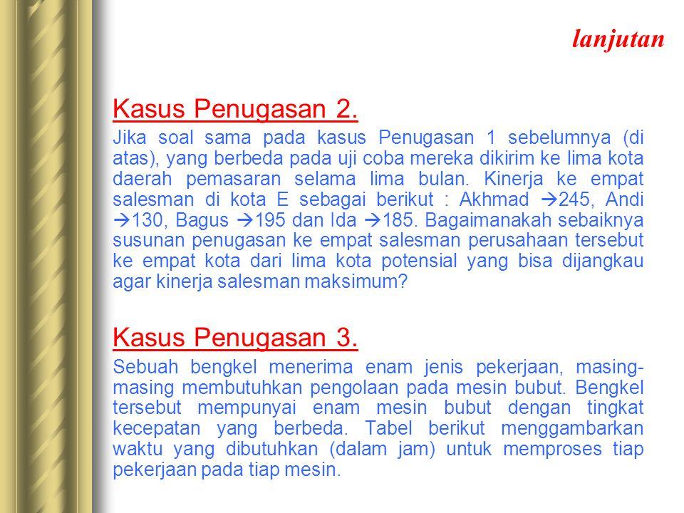 lanjutan Kasus Penugasan 2.