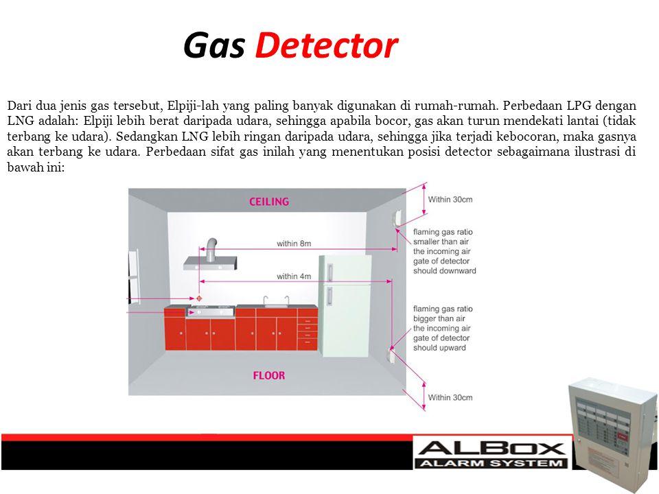 Dari dua jenis gas tersebut, Elpiji-lah yang paling banyak digunakan di rumah-rumah. Perbedaan LPG dengan LNG adalah: Elpiji lebih berat daripada udar