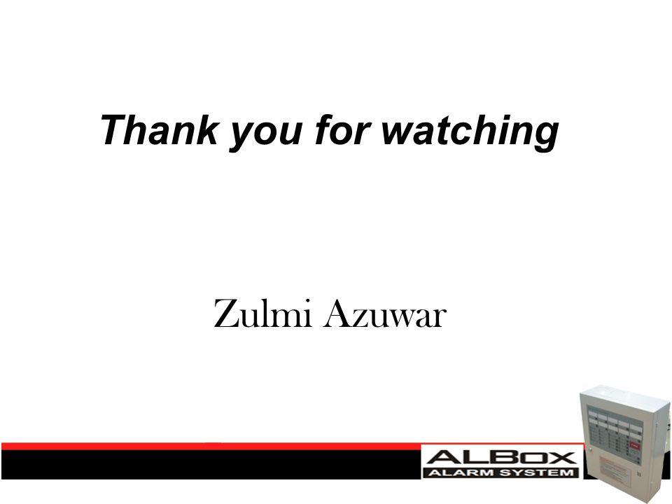 Thank you for watching Zulmi Azuwar