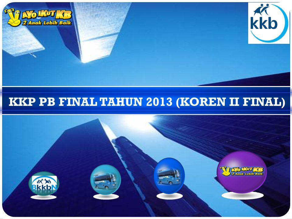 LOGO KKP PB FINAL TAHUN 2013 (KOREN II FINAL)