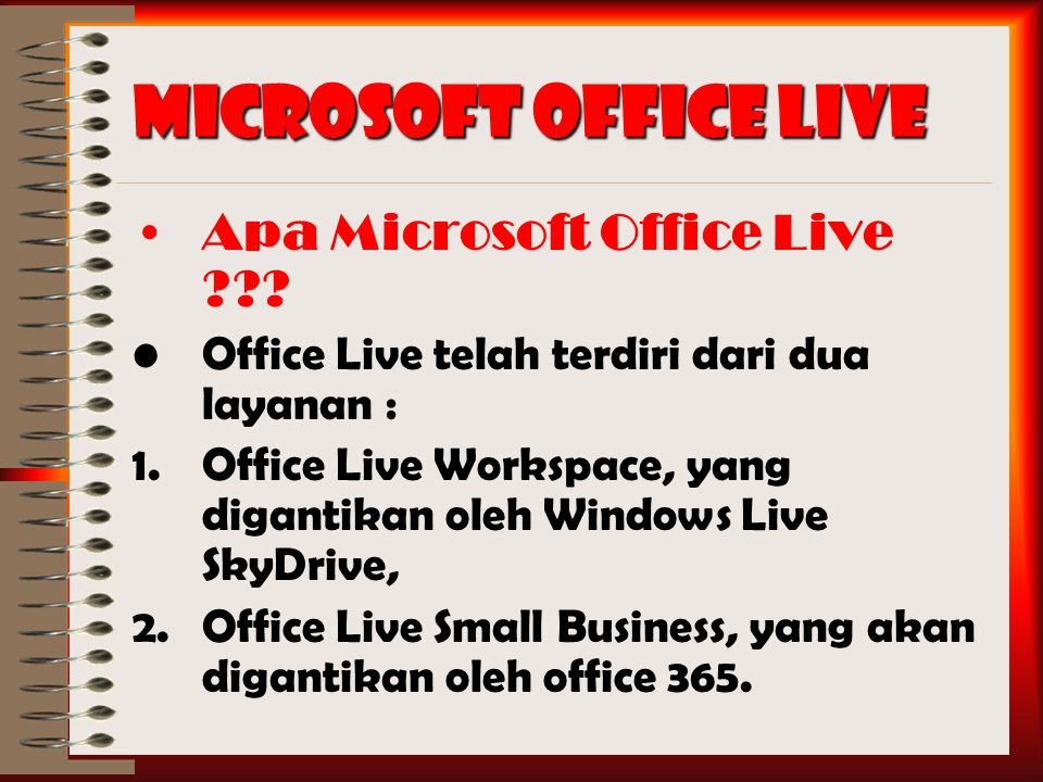 Microsoft Office Live Apa Microsoft Office Live ??.