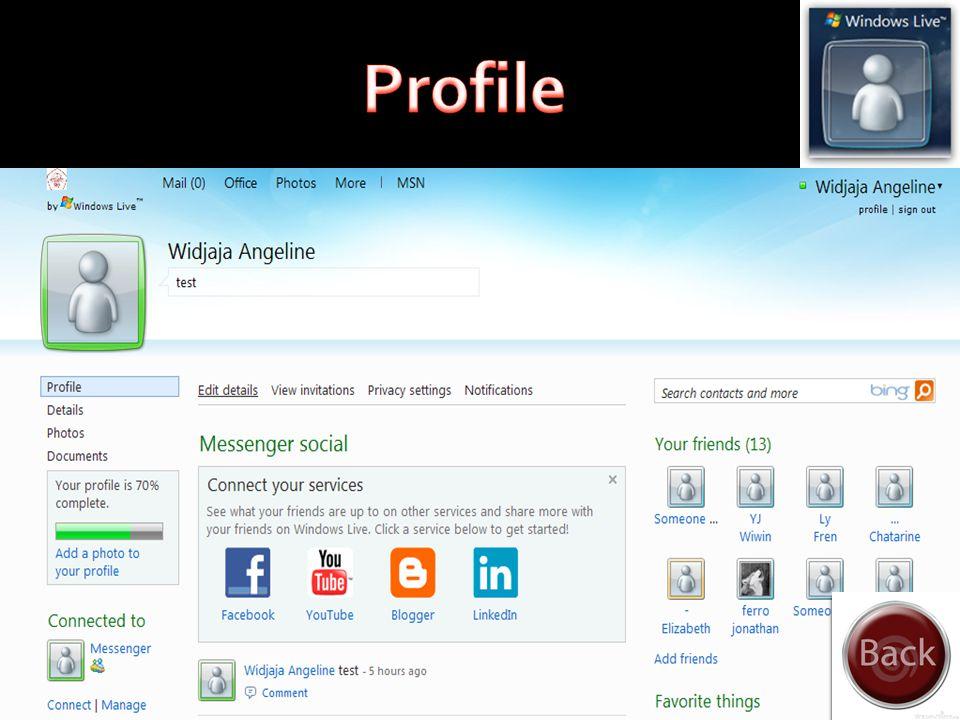 Setiap kelompok dalam Windows Live Groups disediakan dengan ruang penyimpanan pada SkyDrive untuk dibagi di antara anggota kelompok. Anggota kelompok