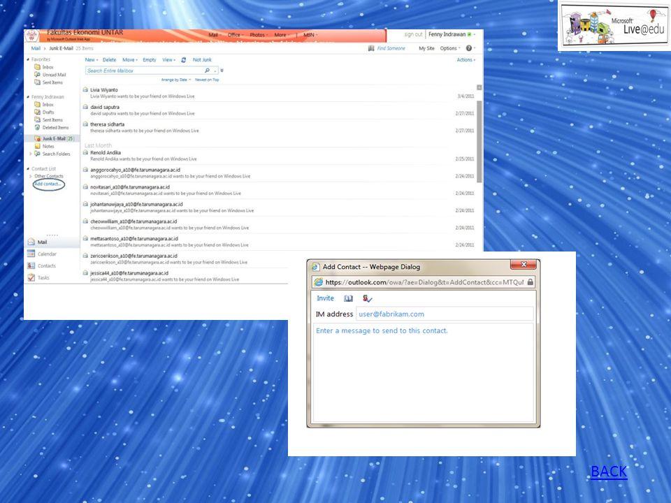 GROUP Jenis lanjutan dari kontak digunakan untuk mengirim pesan ke beberapa penerima melalui satu entri di folder Kontak Anda.