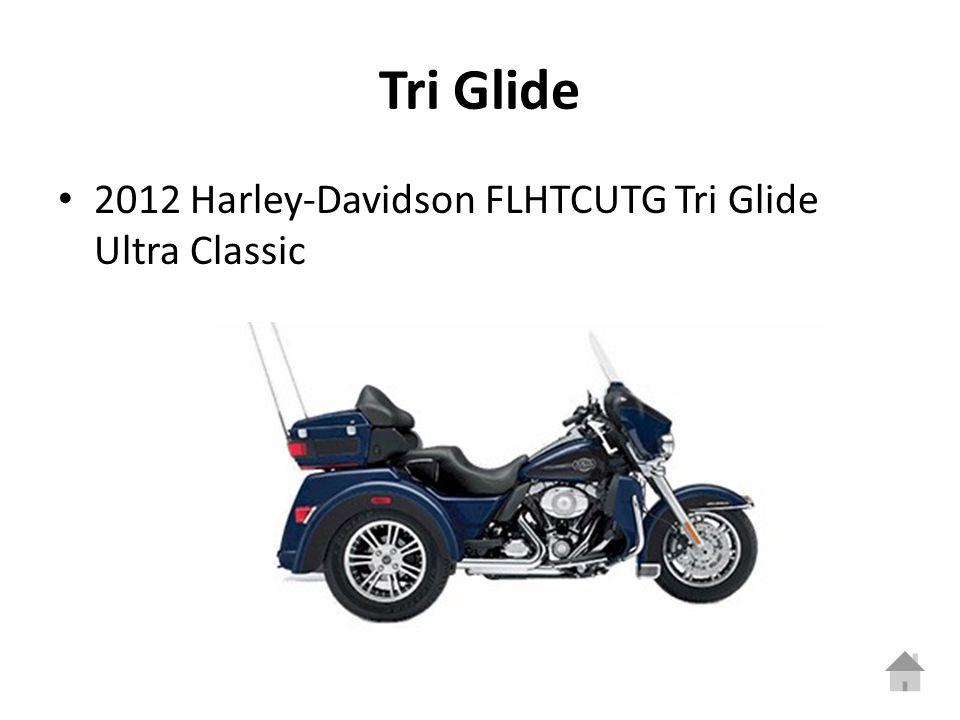 Tri Glide 2012 Harley-Davidson FLHTCUTG Tri Glide Ultra Classic