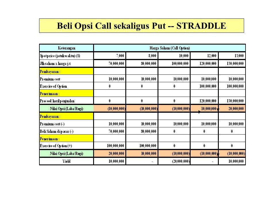 Beli Opsi Call sekaligus Put -- STRADDLE