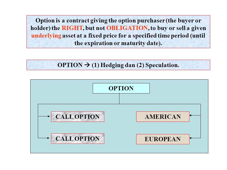 Beli Opsi Call dan Saham atau Beli Opsi Put dan saham Berapa nilai akhir dana yang diinvestasikan, jika harga saham naik menjadi Rp.