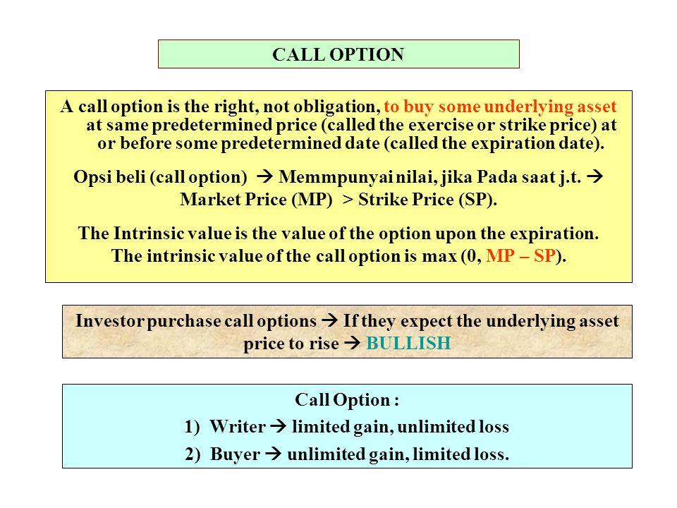 D.OPTION VALUATION 1)Binomial Option Pricing Model (BOPM).