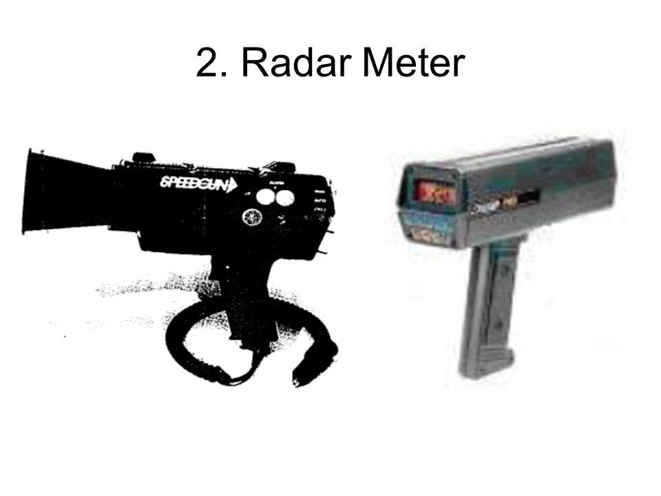 2. Radar Meter