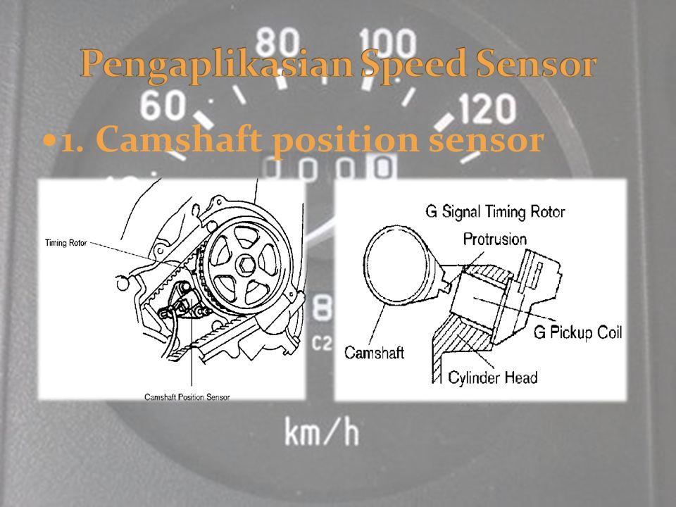 1. Camshaft position sensor