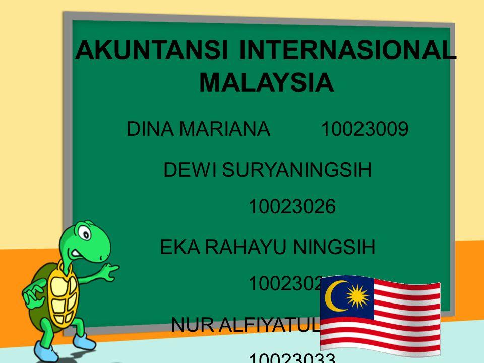 Beberapa praktik yang terjadi di Malaysia : Setiap perusahan harus melaporkan laporan keuangannya, jika sudah terdaftar di pasar modal hanya seperempat dari total seluruh perusahaan yang melakukan penyajian informasi di dalam laporan keuangan mengenai saham.