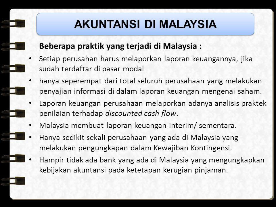 Malaysia mulai mengkonversikan MASB dengan IFRS FRS 1 dengan IFRS 1 : First-time Adoption of International Financial Reporting Standard FRS 2 dengan I