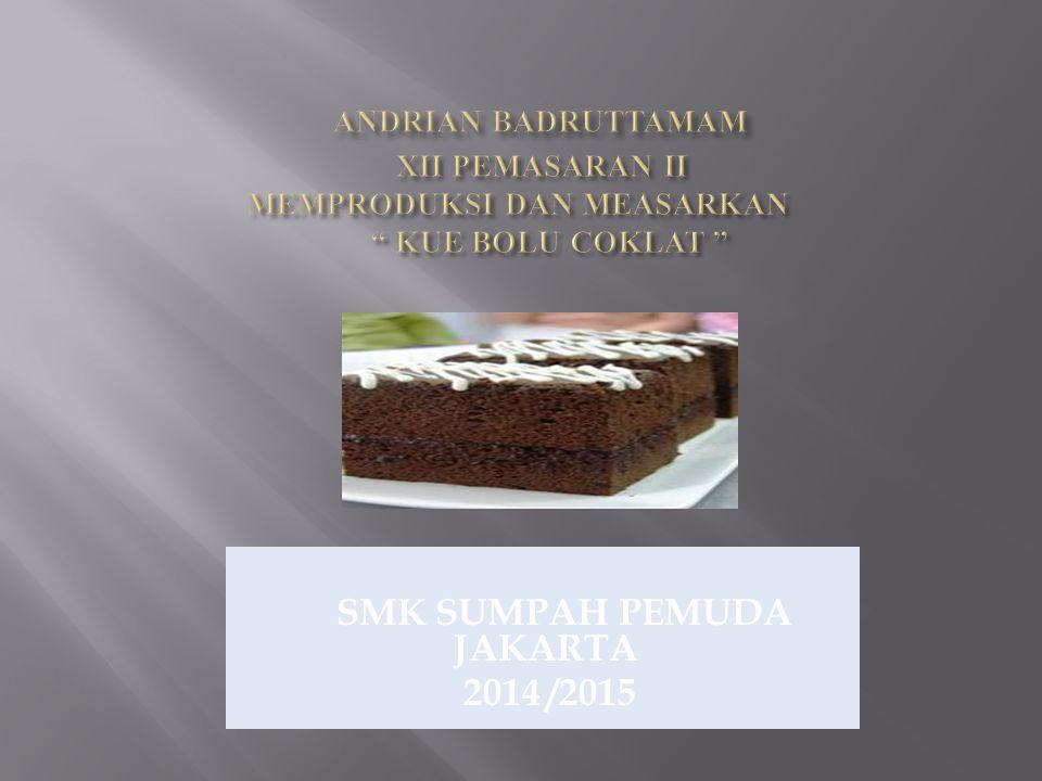 SMK SUMPAH PEMUDA JAKARTA 2014 /2015