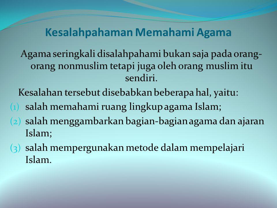 Lanjutan 3. Agama sebagai penentram hati, sebagaimana firman Allah dalam Qs.