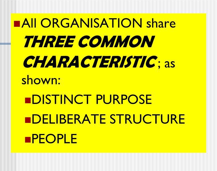 Proses Terbentuknya Organisasi Ketidakterbatasan kebutuhan manusia Keterbatasan kemampuan manusia Berorganisasi 1.Spontan 2.Seksama dan pertimbangan secara matang Terbentuk :