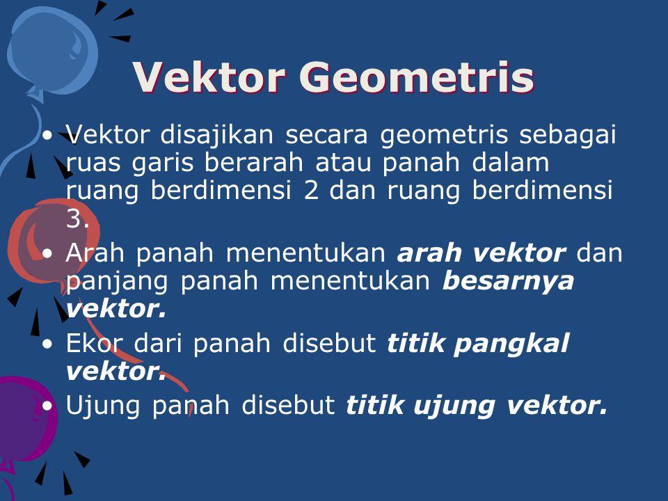 Vektor ditulis dalam huruf kecil.