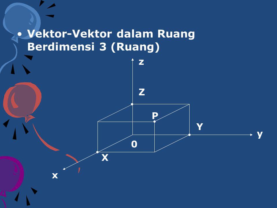 SIFAT-SIFAT OPERASI VEKTOR Jika u, v, dan w adalah vektor-vektor dalam ruang berdimensi 2 dan ruang berdimensi 3, k dan l adalah skalar, maka : u+v=v+u(u+v)+w=u+(v+w) u+0=0+u=uu+(-u)=0 k(lu)=kl(u)k(u+v)=ku+kv (k+l)u=ku+lulu=u