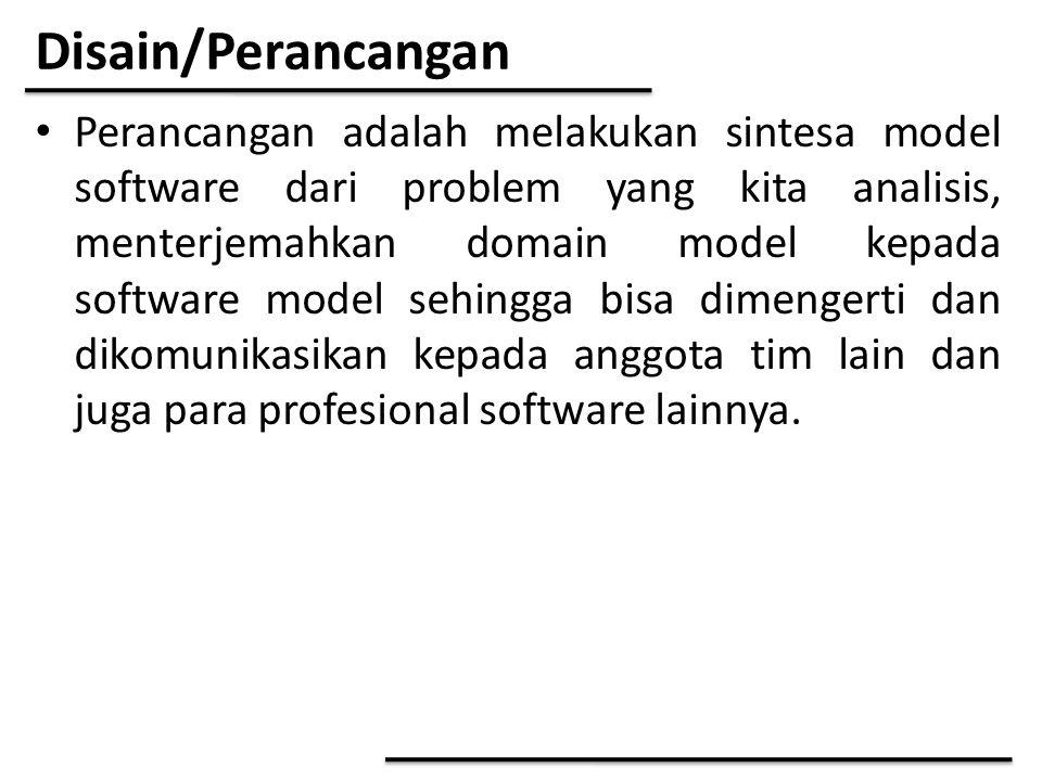 Analisis Class tiap Use Case