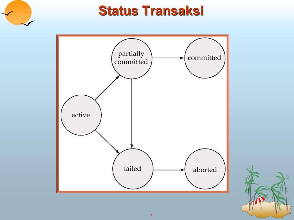 7 Status Transaksi