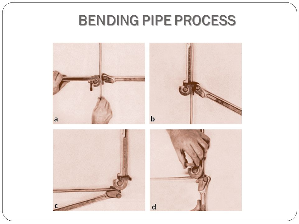 BENDING PIPE PROCESS