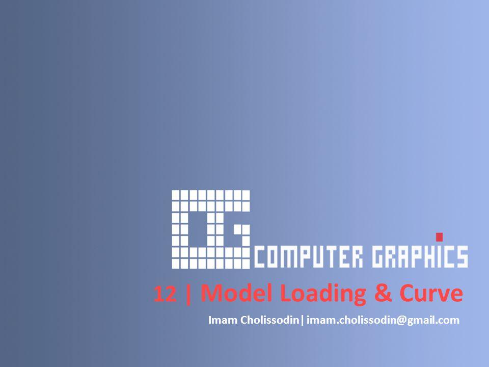12 | Model Loading & Curve Imam Cholissodin| imam.cholissodin@gmail.com